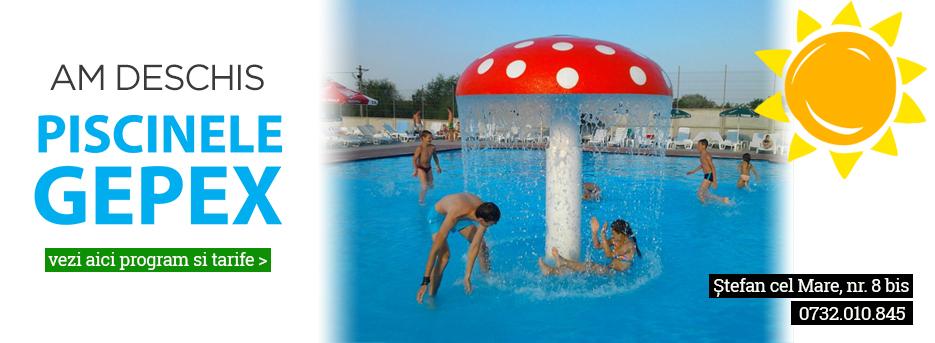 Am deschis piscinele Gepex - 2021